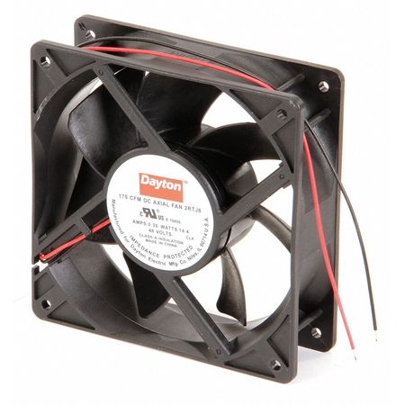 "4-11/16"" Square Axial Fan,  48VDC"