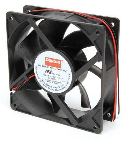 "4-11/16"" Square Axial Fan,  24VDC"
