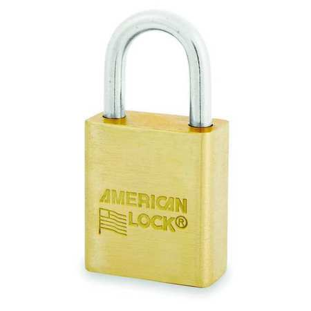 "Keyed Padlock, Different, 1-1/2""W"