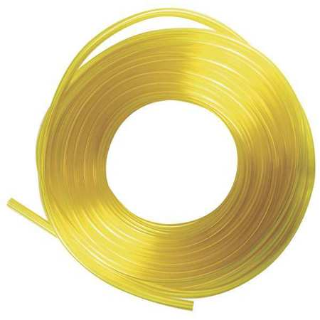 PVC Tubing, Fuel And Lubricant, 1/2 In OD