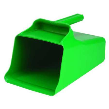 Mega Hand Scoop, Poly, 128 Oz, Green