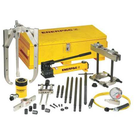 Hydraulic Puller Set, 20 t, 11 pc