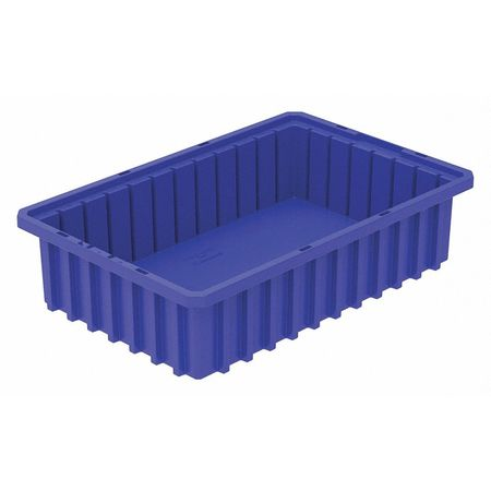 Divider Box,  16-1/2 x 10-7/8 x 4 In,  Blue