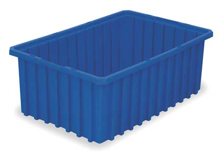 Divider Box,  22-3/8 x 17-3/8 x 8 In,  Blue