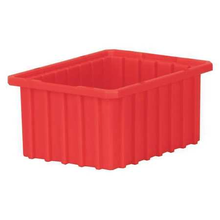 Divider Box, 10-7/8 x 8-1/4 x 5 In, Red