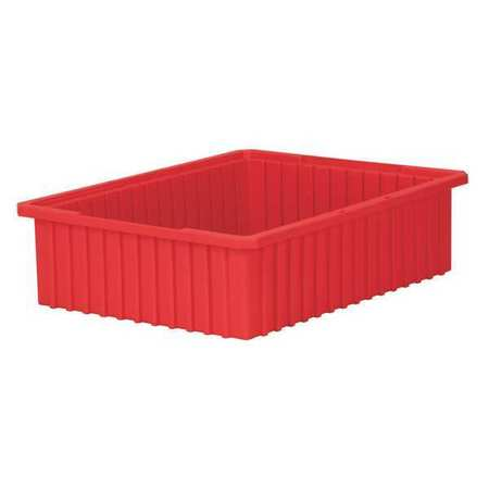 Divider Box, 22-3/8 x 17-3/8 x 6 In, Red