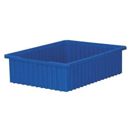 Divider Box, 22-3/8 x 17-3/8 x 6 In, Blue