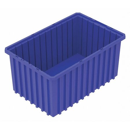 Divider Box,  16-1/2 x 10-7/8 x 8 In,  Blue