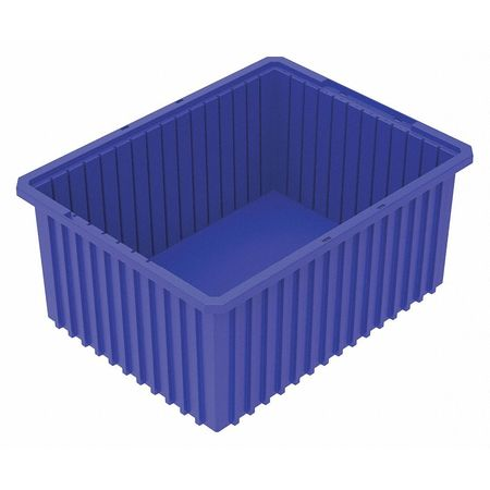 Divider Box,  22-3/8 x 17-3/8 x 10 In,  Blue