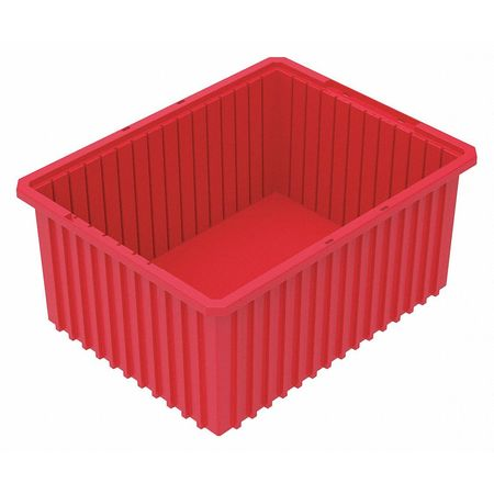 Divider Box,  22-3/8 x 17-3/8 x 10 In,  Red