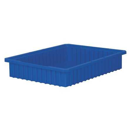 Divider Box, 22-3/8 x 17-3/8 x 4 In, Blue