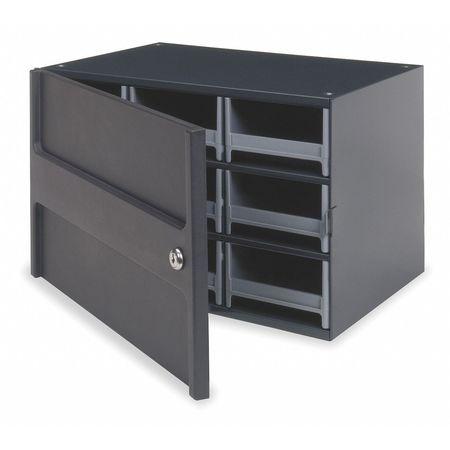 Drawer Bin Cabinet, 11 In. D, 17 In. W