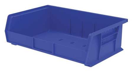 Hang/Stack Bin,  5x16 1/2x 10 7/8, Blue