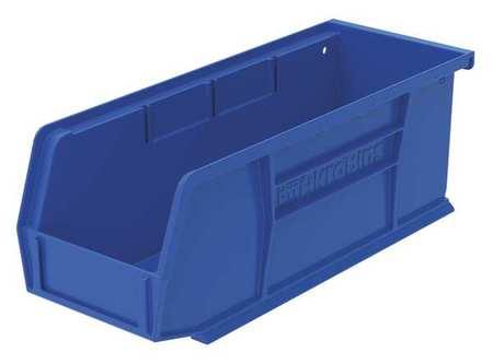 Hang/Stack Bin, 10-7/8 x 4-1/8 x 4, Blue