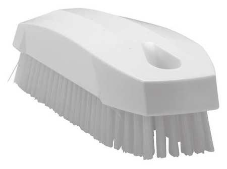 Hand and Nail Brush, Polyester, Block
