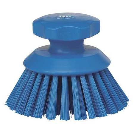 Scrub Brush, Polyester, Short Handle