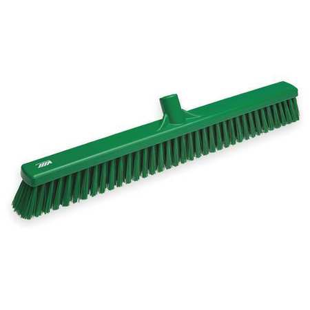 VIKAN Green Wide Floor Broom Head