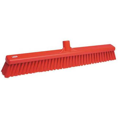 VIKAN Red Wide Floor Broom Head