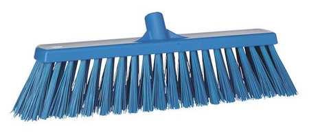 VIKAN Blue Heavy-Duty Floor Broom Head