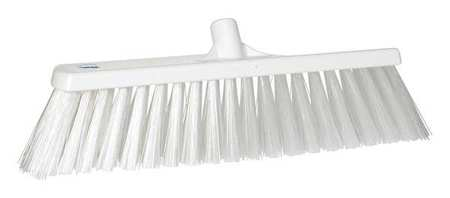 VIKAN White Heavy-Duty Floor Broom Head