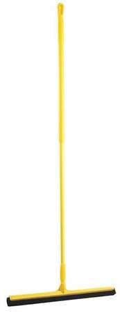 """VIKAN Yellow 24"""" Polypropylene Floor Squeegee"""