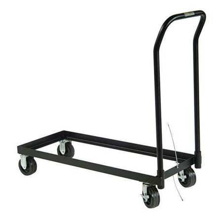 Cabinet Rolling Cart, Steel, 43-1/4 In. W
