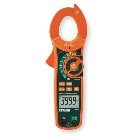 Clamp Meter, 60 MOhms, 600A