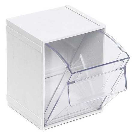 Tip Out Bin,  Individual, W 3/4, White