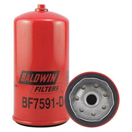 Fuel Filter, 6-1/8 x 3-1/32 x 6-1/8 In