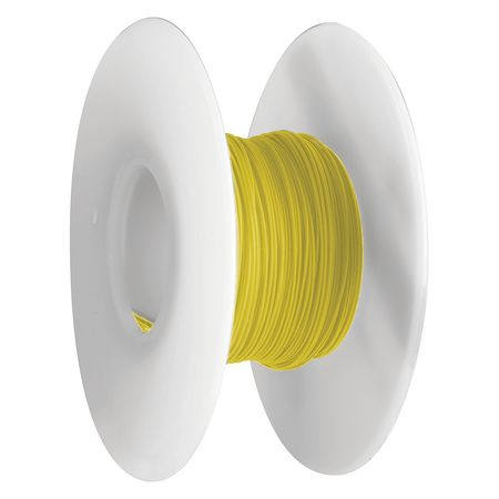 Wire Wrapping Wire, 26 AWG, Yellow, 100 Ft.
