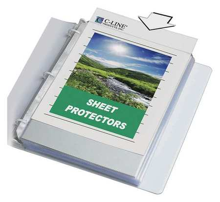 Specialty Sheet Protector, PK50