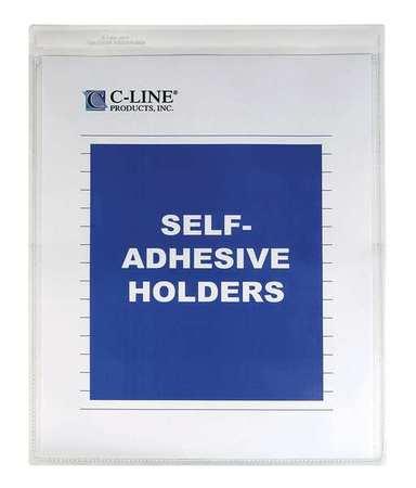 Self Adhesive Holder, 5x8, PK50