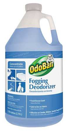 Deodorizer, Size 1 gal., Fresh Breeze, PK4