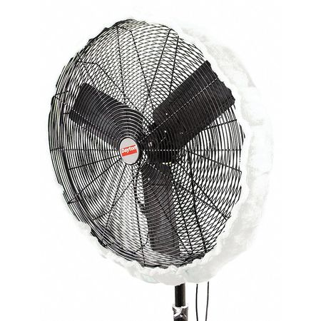 Fan Shroud Filter, Poly, For 40-42 in.