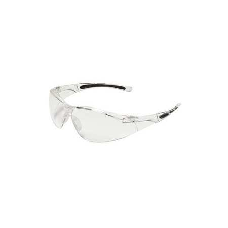 2TFX1 Safety Glasses, Clear, Scratch-Resistant