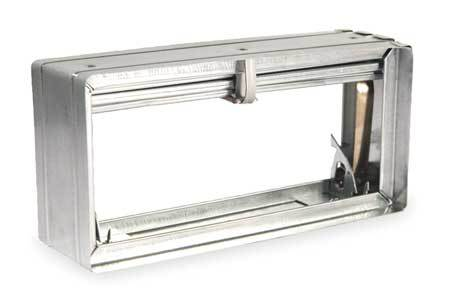 Rectangular Fire Damper, 7-3/4x11-3/4 In.
