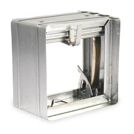 Square Fire Damper, 9-3/4 In. W
