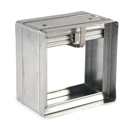 Square Fire Damper, 13-3/4 In. W