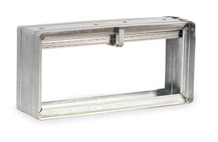 Rectangular Fire Damper, 11-3/4x13-3/4 In