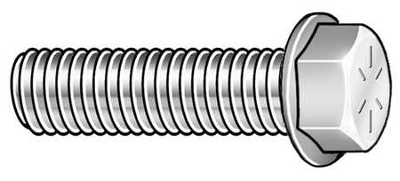 "3/4""-10 x 2-3/4"" Grade 8 Plain Hex Head Cap Screw,  15 pk."