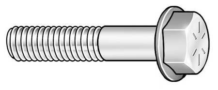 "3/4""-16 x 3"" Grade 8 Plain Hex Head Cap Screw,  15 pk."
