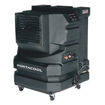 2400/3000 cfm Portable Evaporative Cooler,  115V