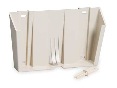 2TUX1 Locking Wall Mount Bracket, Plastic, Beige