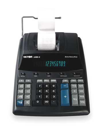 Desktop Calculator, 12 Digit, 4.6 LPS