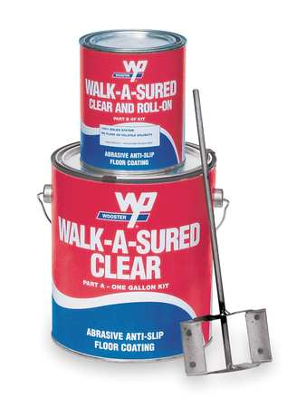 Anti-Skid Kit, 1 gal, Gray, Epoxy, Gloss