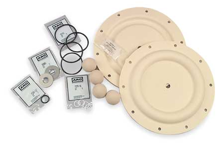 Diaphragm Pump Repair Kit, Fluid