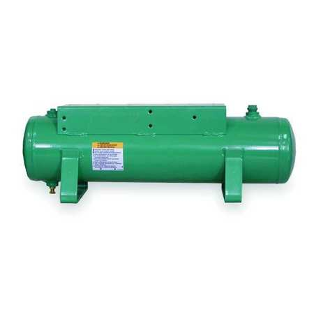 Non Coded Air Tank, Hotdog, 3 Gal, 1 HP