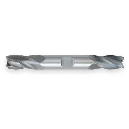 End Mill, Carbide, 1/4, 4 FL, dbl Sq End, CC