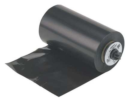 "4-1/3"" x 984 ft. Black Ribbon"