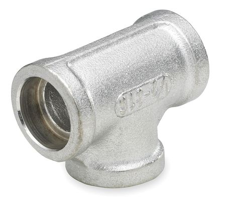 Tee, 1 In, Socket Weld, 316 Stainless Steel